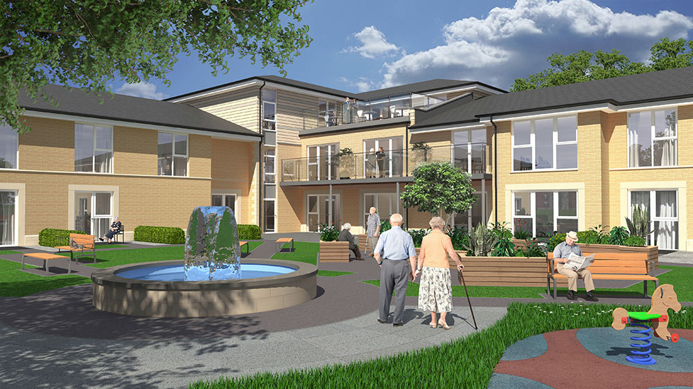 Nursing Home U2013 Meggetgate, Edinburgh, 74 Beds | The Unum Partnership